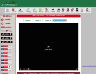 crichd live Access live.crichd.in. Star Sports 1 - Star Sports 1 Live Streaming ...