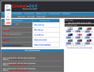 live.cricket-365.me screenshot