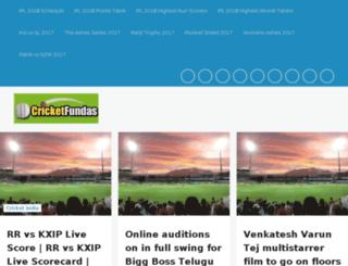 live.cricketfundas.com screenshot