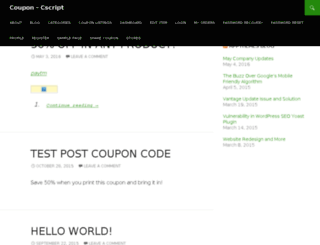 live.cscript.in screenshot