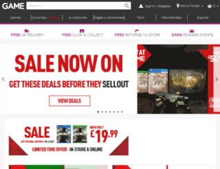 live.game.co.uk screenshot