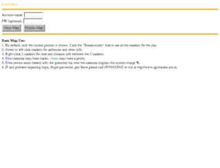live.gpstracker.net.in screenshot