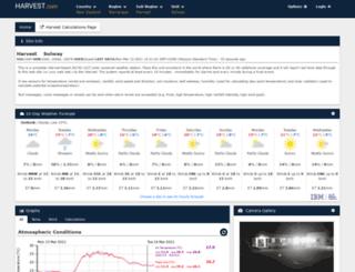 live.harvest.com screenshot