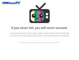 live.keen.tv screenshot