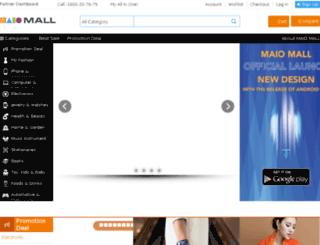 live.maiomall.com screenshot