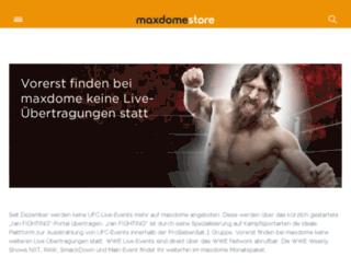 live.maxdome.de screenshot
