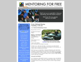 live.mentoringforfree.com screenshot
