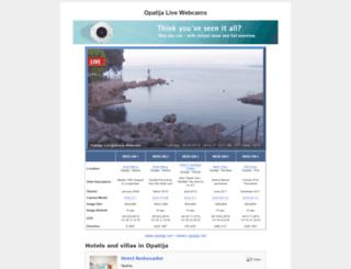 live.opatija.net screenshot