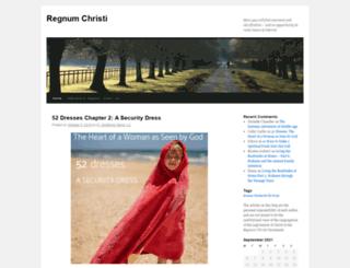 live.regnumchristi.org screenshot
