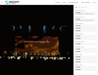 live.seacoast.org screenshot