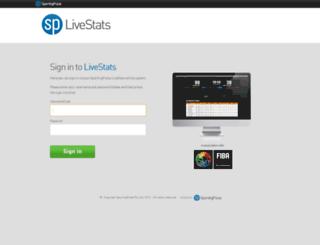 live.sportingpulse.com screenshot