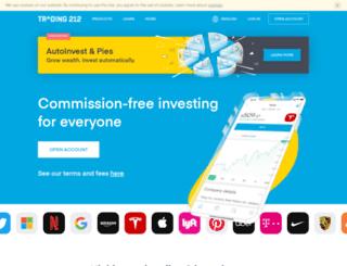 live.trader.bg screenshot