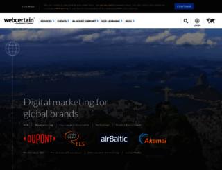 live.webcertain.com screenshot