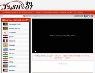 live.yallashoot.org screenshot