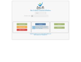 live.zinghr.com screenshot
