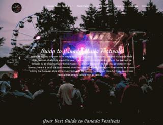 live105.ca screenshot