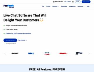 live2support.com screenshot
