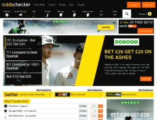 liveadm.oddschecker.com screenshot