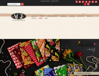 liveartgalleryfabrics.com screenshot