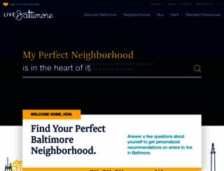 livebaltimore.com screenshot