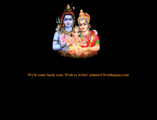 livebhajans.com screenshot