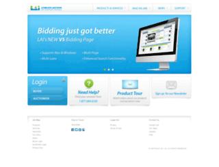 liveblockauctions.com screenshot