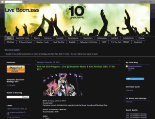 livebootlegconcert.blogspot.com screenshot