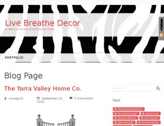 livebreathedecor.com screenshot