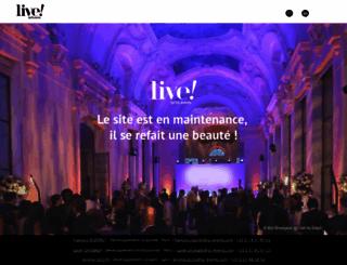 livebyglevents.com screenshot