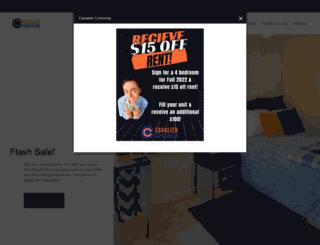 livecavaliercrossing.com screenshot