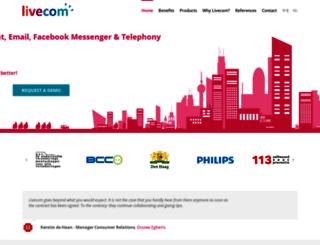 livecom.net screenshot