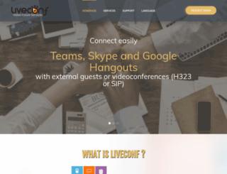liveconf.net screenshot
