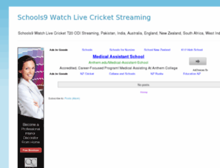 livecricket.schools9.info screenshot