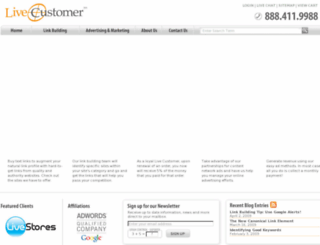 livecustomer.com screenshot