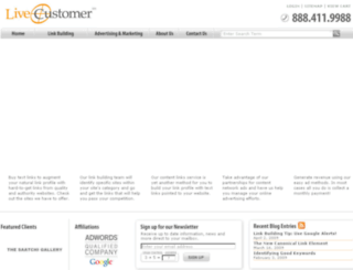 livecustomer.net screenshot
