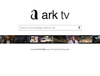 livedash.ark.com screenshot