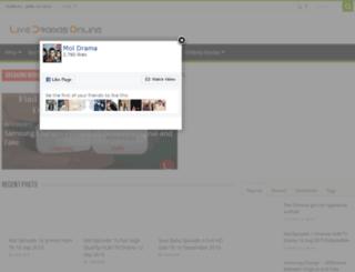 livedramasonline.com screenshot
