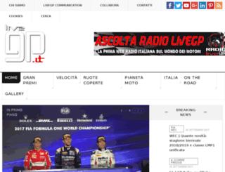 livef1.it screenshot