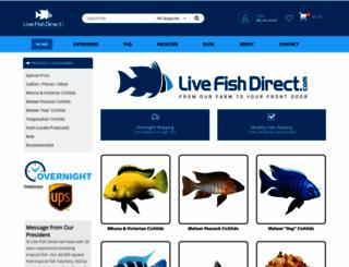 livefishdirect.com screenshot
