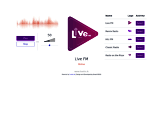 livefmlk.com screenshot