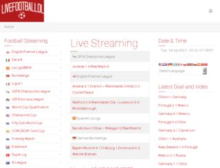 livefootballol.tv screenshot