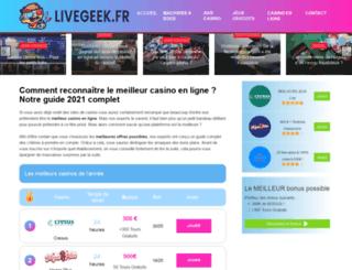 livegeek.fr screenshot