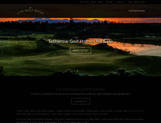 livegolfbend.com screenshot