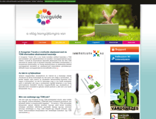 liveguide.hu screenshot