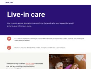 liveincare.info screenshot