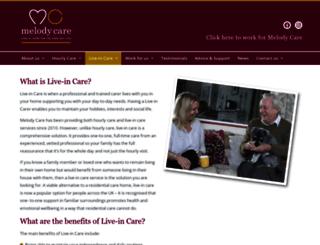 liveincare.ltd.uk screenshot