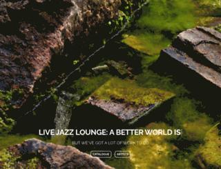 livejazzlounge.com screenshot