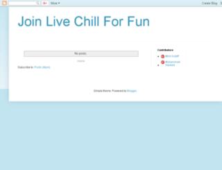 livejoin.blogspot.com screenshot