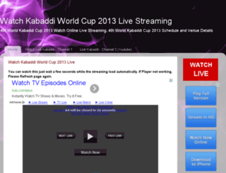 livekabaddi2014.blogspot.com screenshot