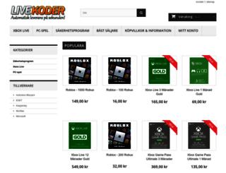 livekoder.com screenshot